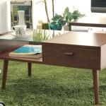 80㎝幅のよくできたローテーブル、ORLEANS (オリンズ)