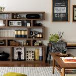 デザインシェルフという本棚が、いろいろ使えそうでよくできてるんです!